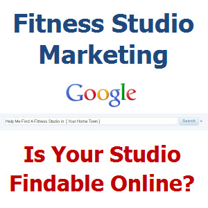 Fitness Studio Marketing